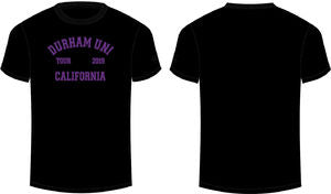 Durham Uni California Tour Giveaway Cotton Tee