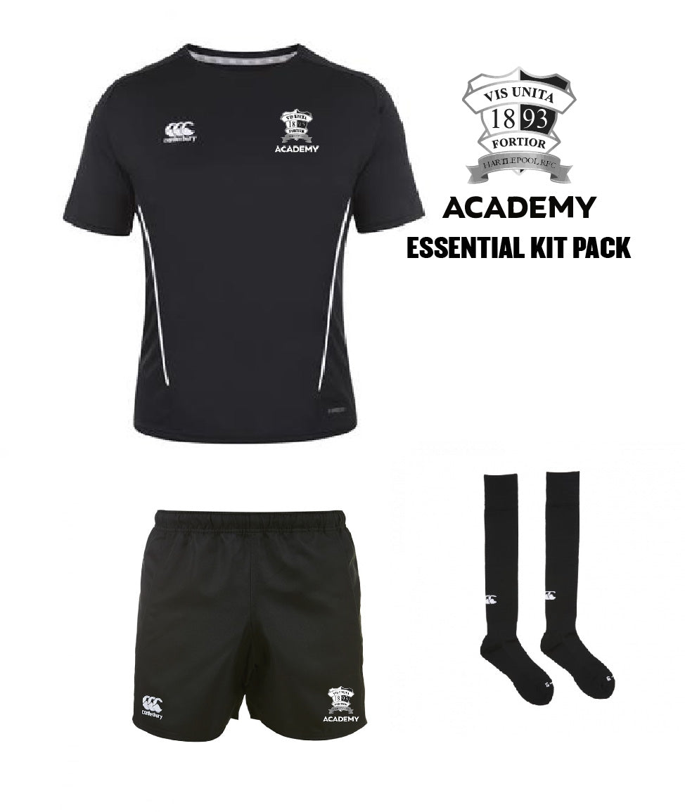 Hartlepool RFC Academy CCC Essential Kit Pack