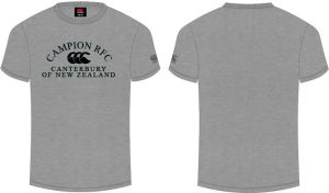 Campion RFC CCC Printed logo T-shirts