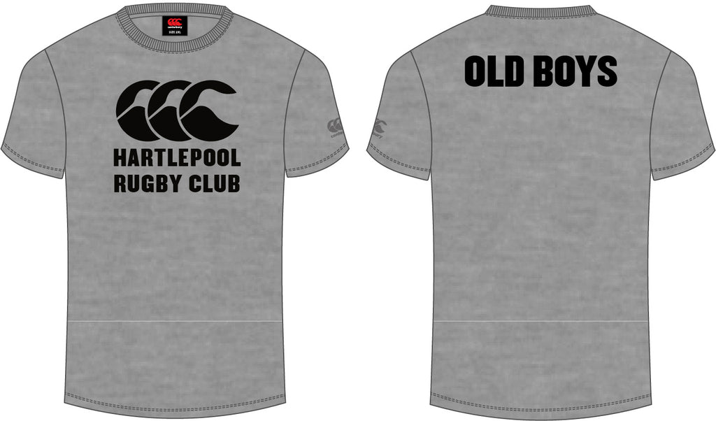 Hartlepool RFC CCC Printed Old Boys Tee Senior