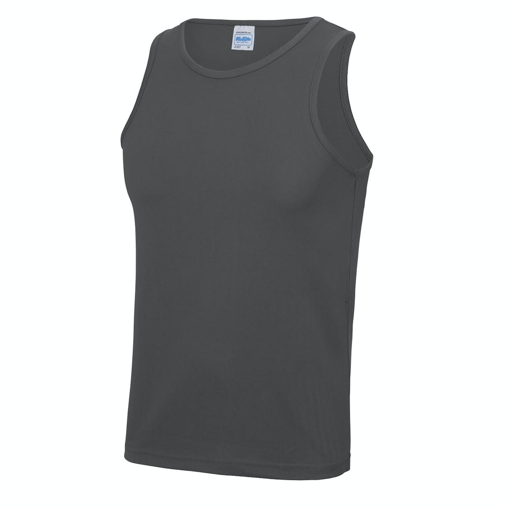 Blyth Barbells Charcoal Vest Mens