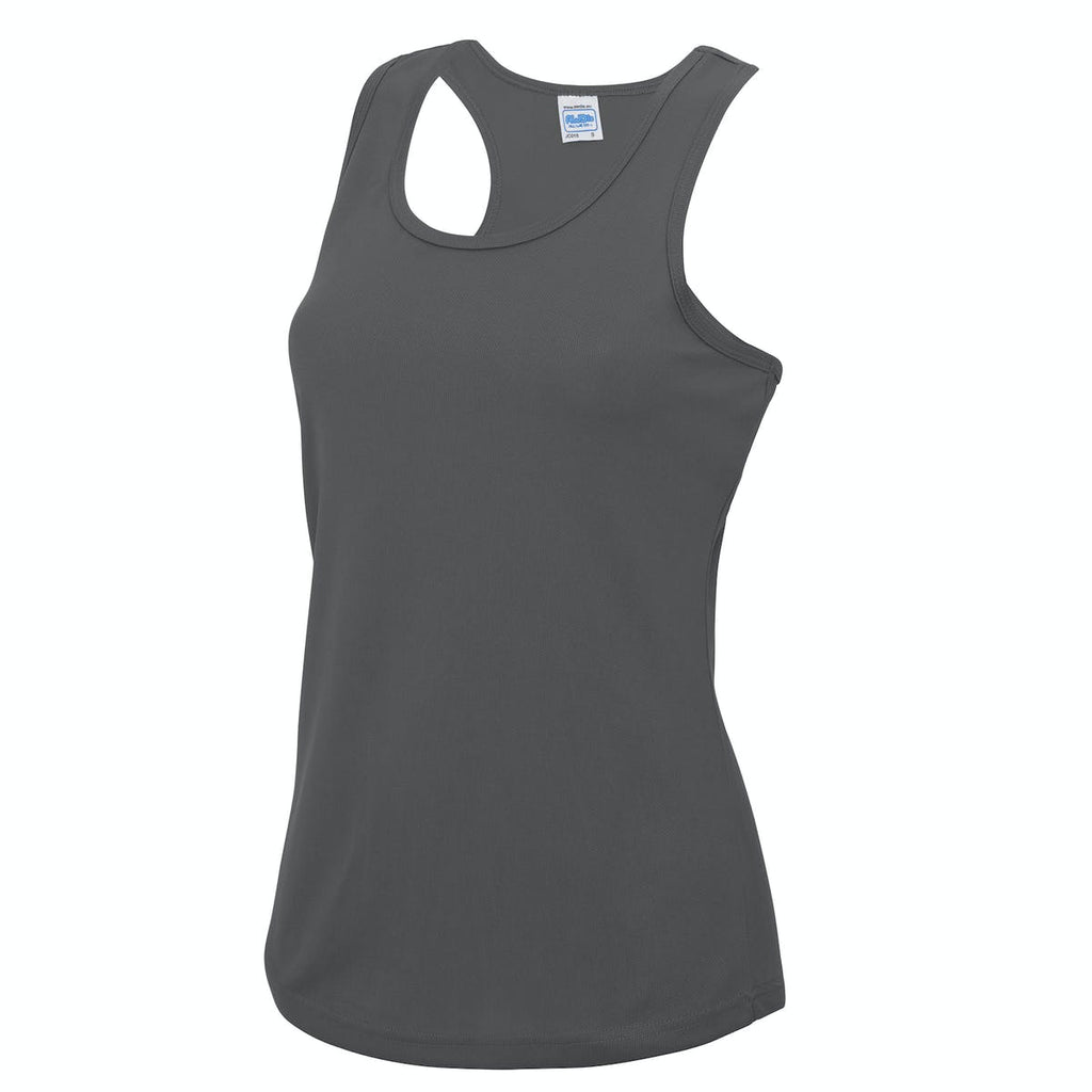 Blyth Barbells Charcoal Vest Womens