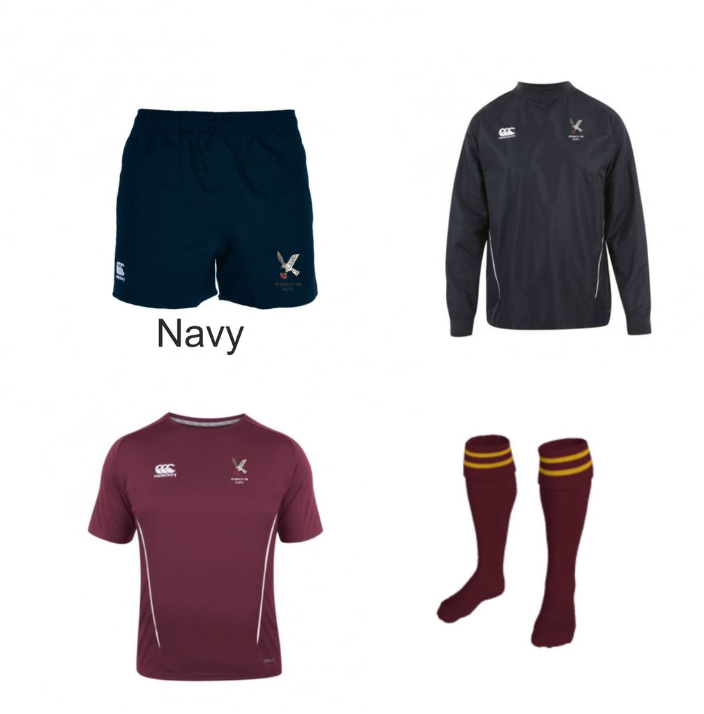 Ipswich YM RUFC CCC Kit Pack 1