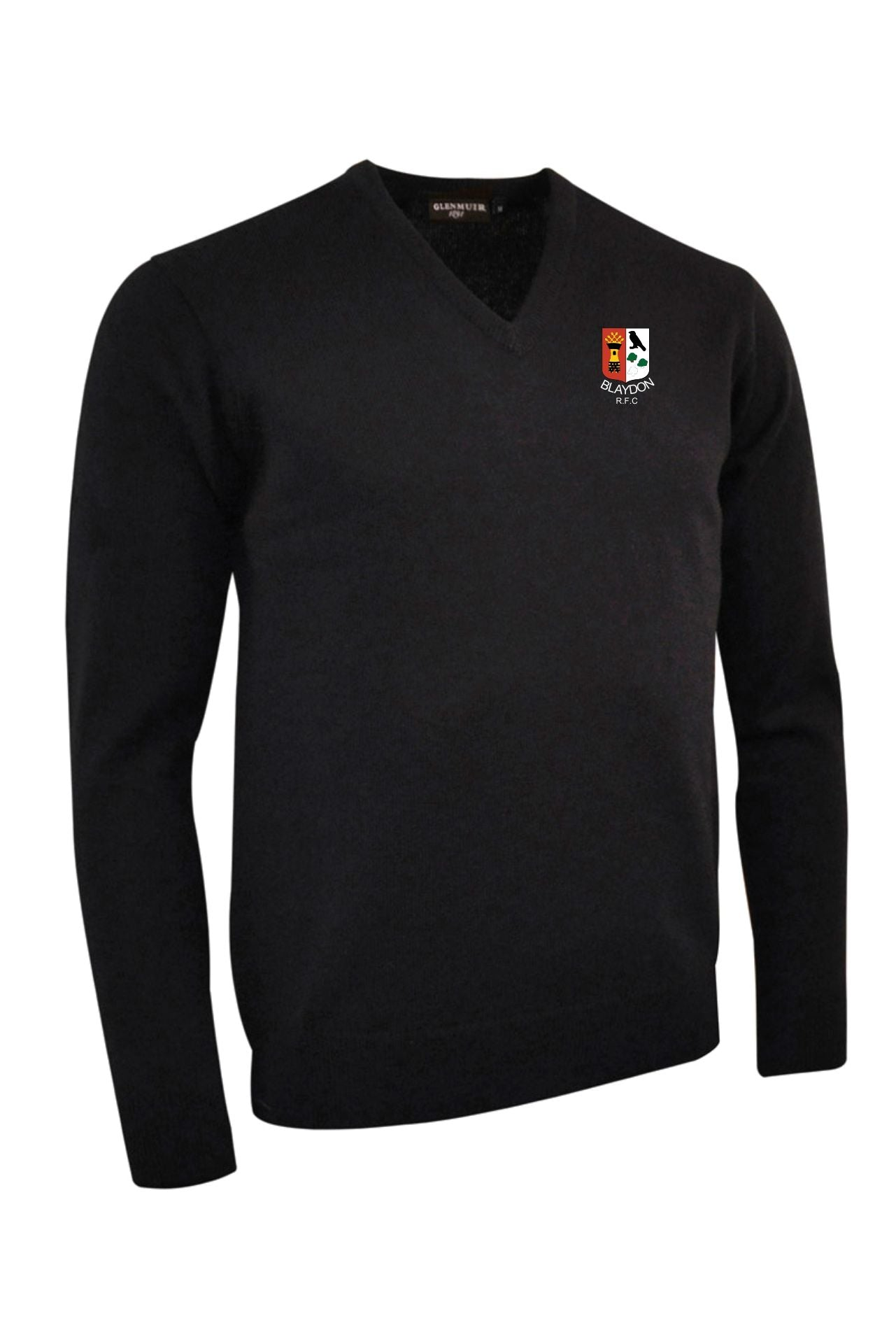 "Blaydon RFC "" Members"" Glenmuir Lambswool V Neck"