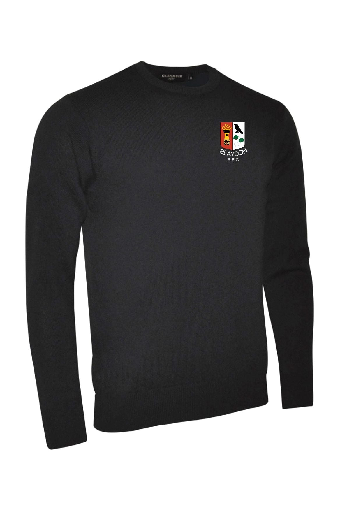 "Blaydon RFC ""Members"" Crew neck lambswool"