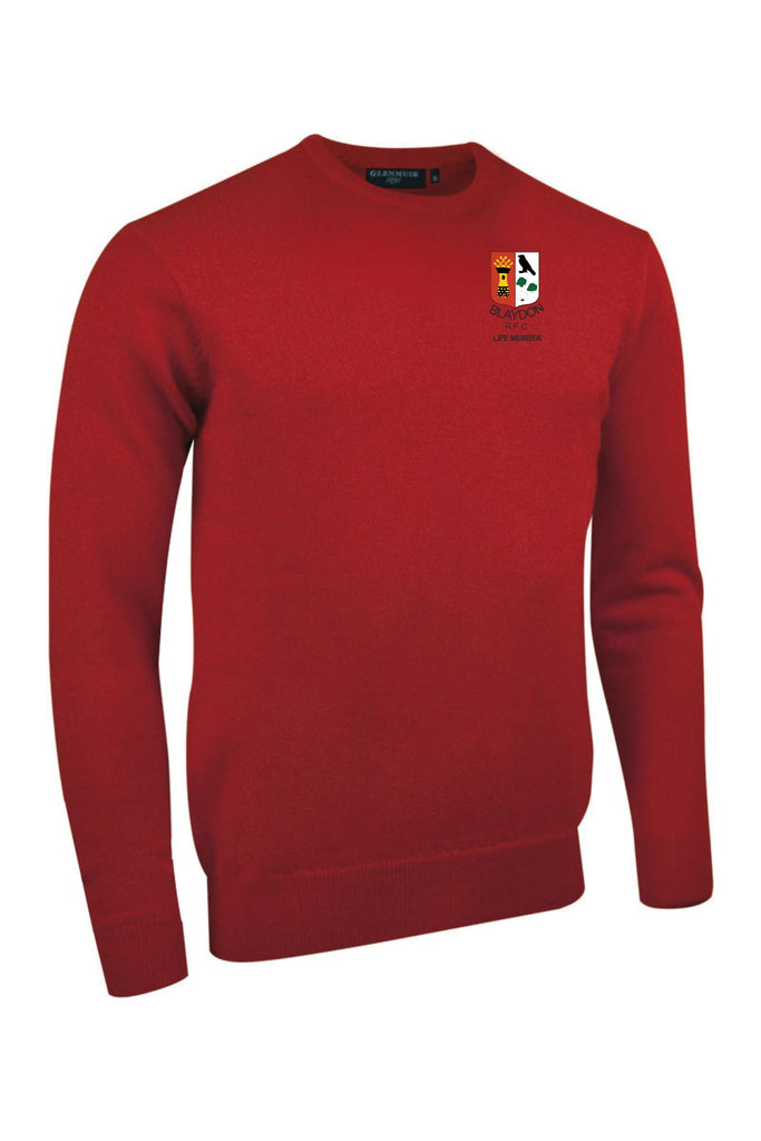 "Blaydon RFC ""Life Members"" Crew Neck lambswool jersey"