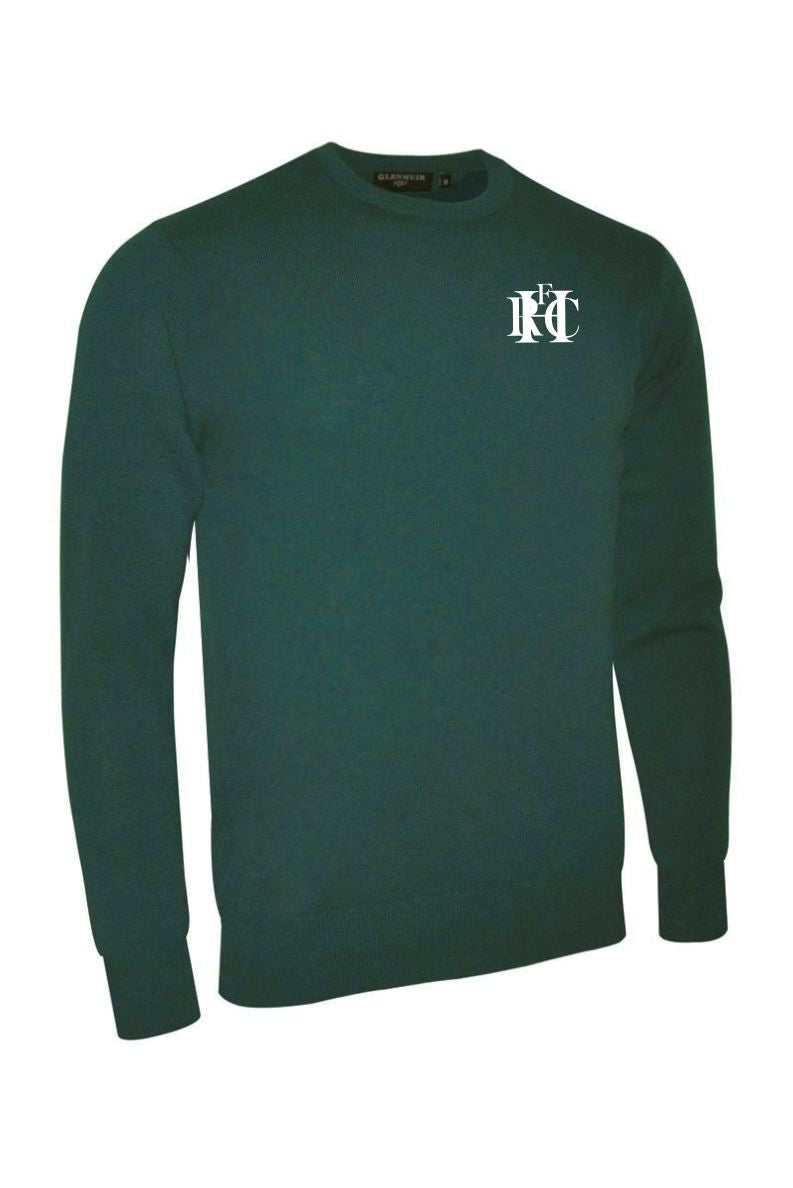 Hawick RFC Text Glenmuir Morar Crew Neck Lambswool Sweater