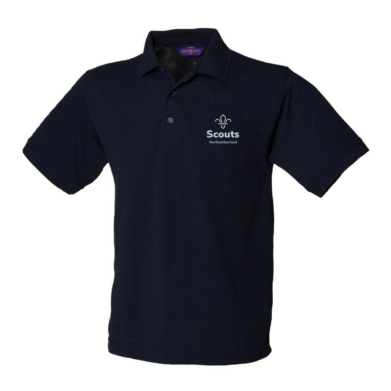 Northumberland Scouts Polo Shirt Womens