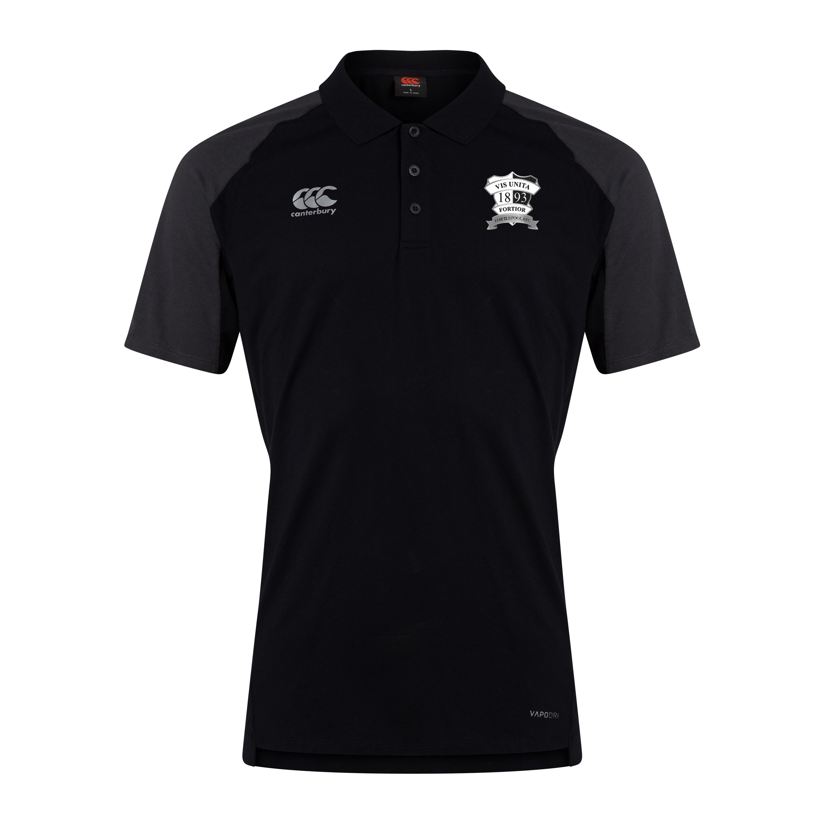 Hartlepool RFC CCC Pro II Performance Cotton Polo