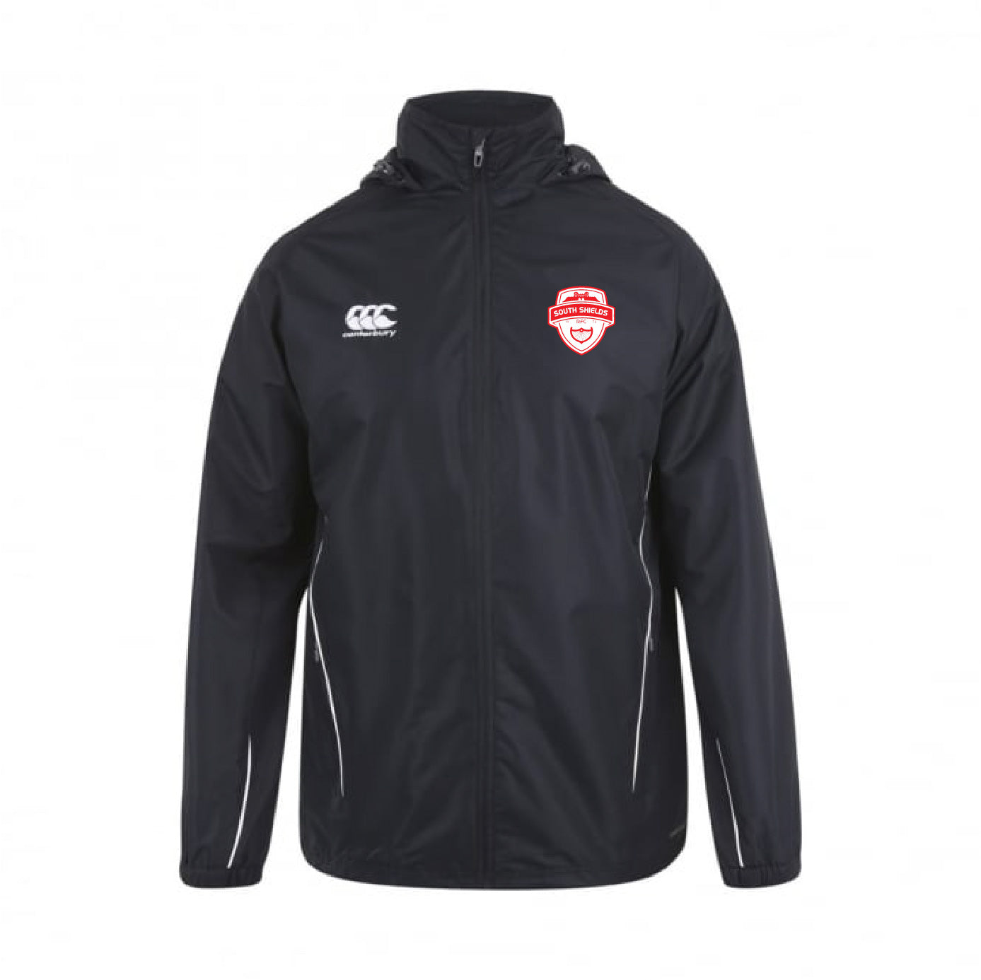 South Shields RFC CCC Team Full Zip Rain Jacket Junior