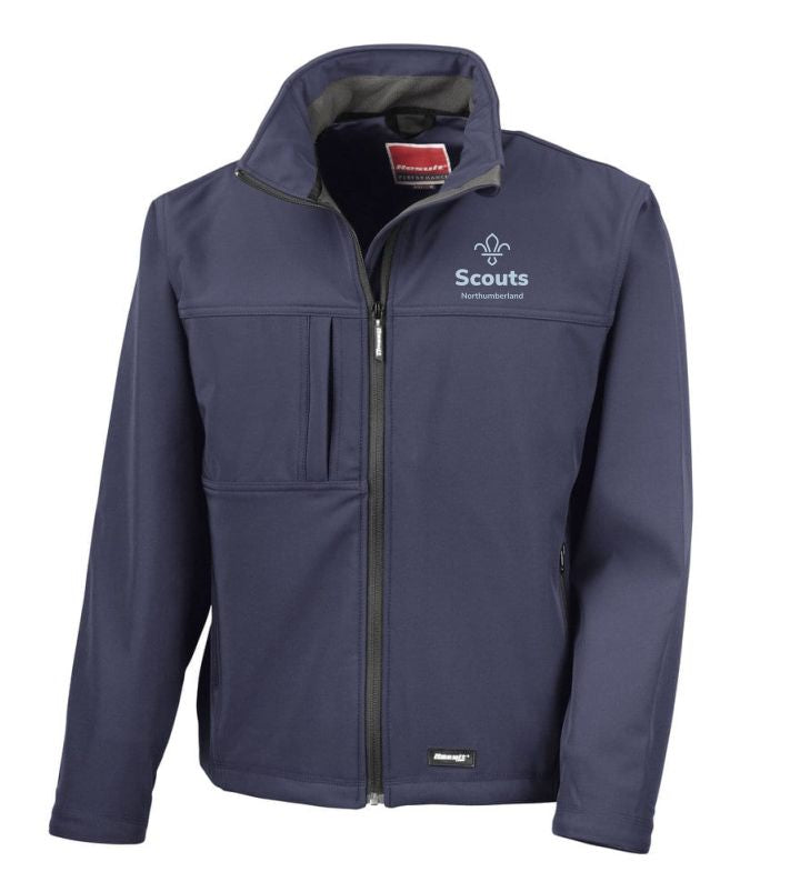 Northumberland Scouts Softshell Jacket Mens