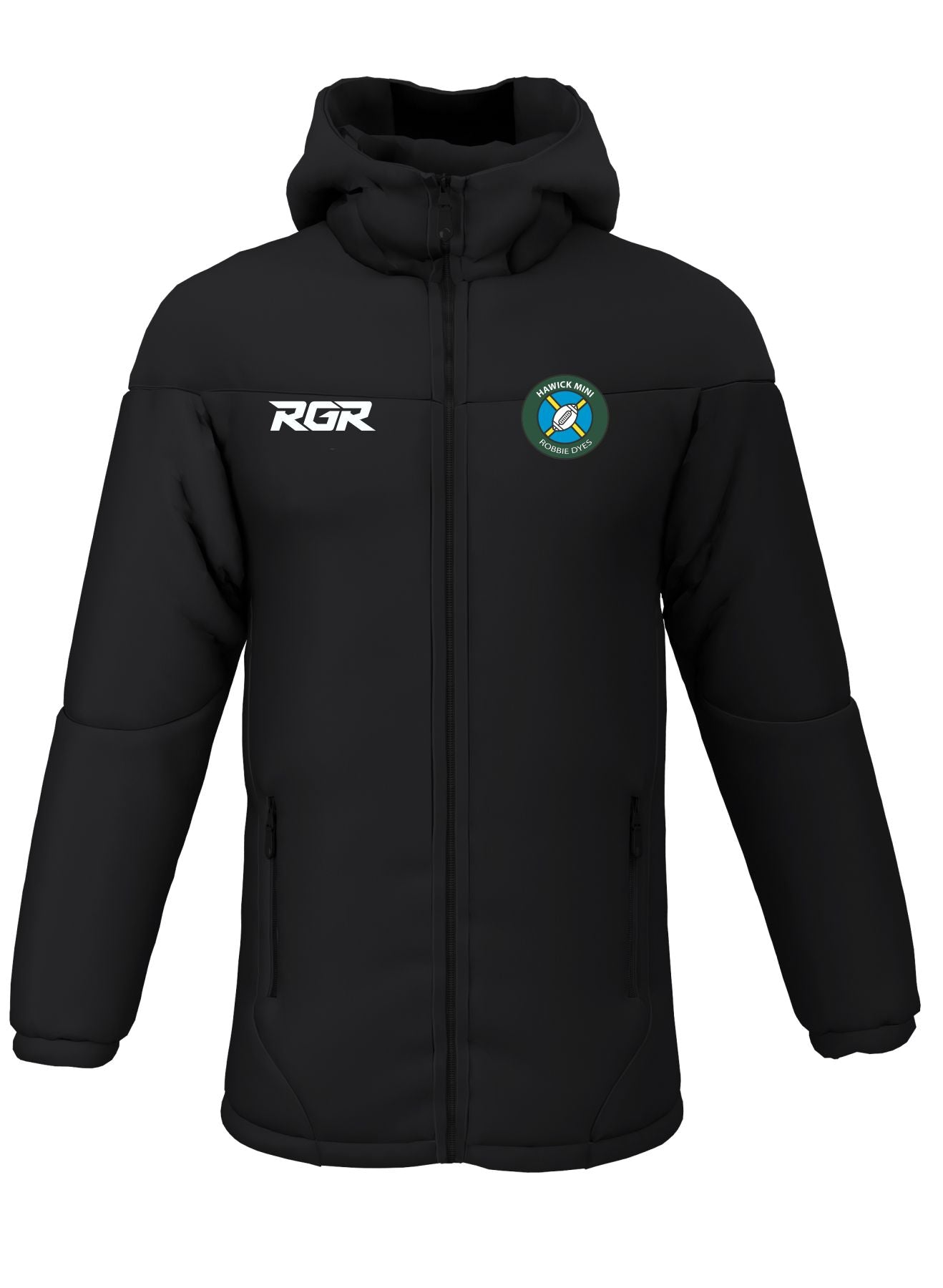 "HAWICK ""MINI ROBBIE DYES"" RFC RGR  Contour jacket Senior"
