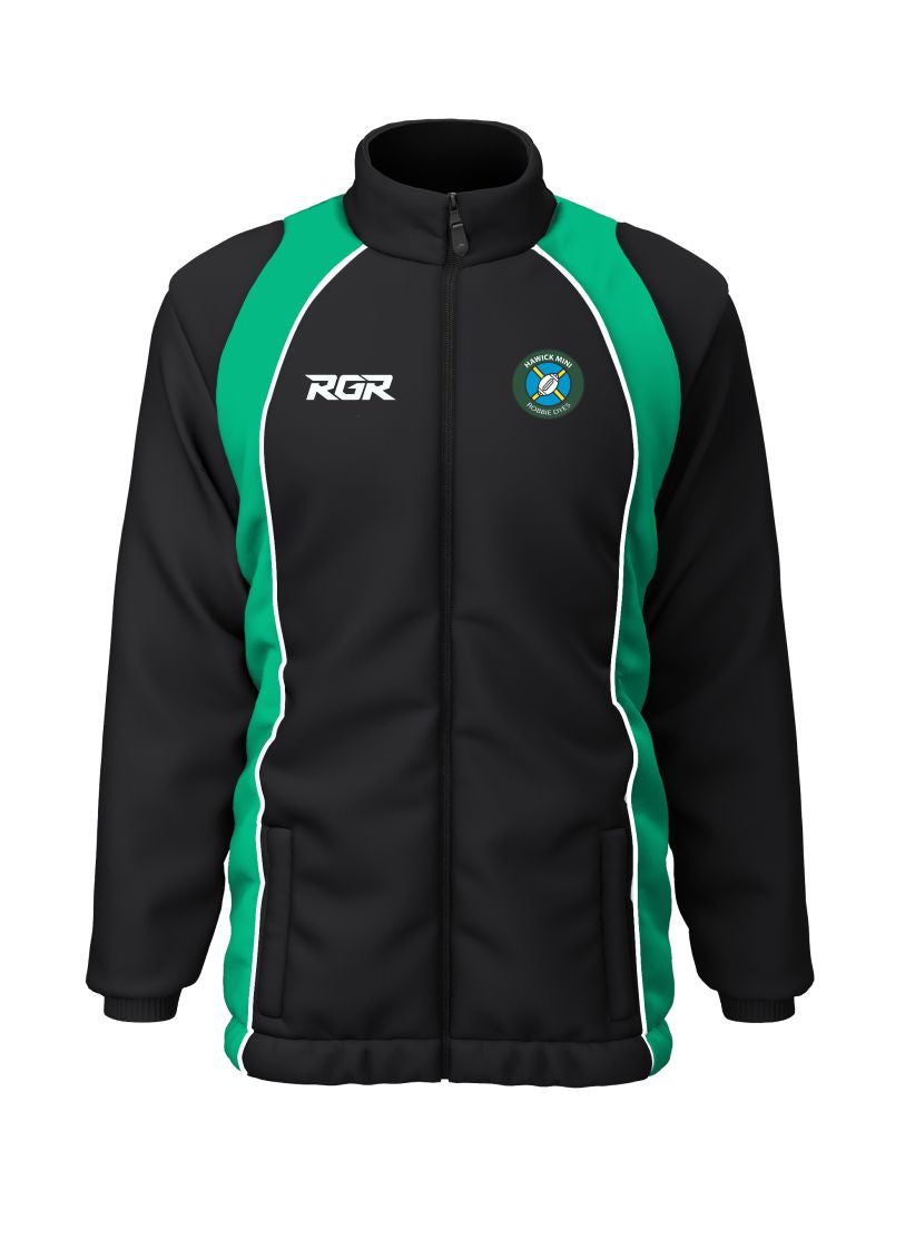 "HAWICK ""MINI ROBBIE DYES"" RFC RGR Shower Jacket Senior"