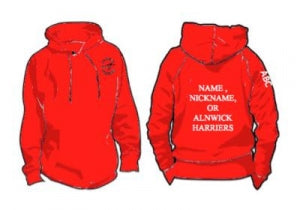Alnwick Harriers  Standard Hooded Top in adults