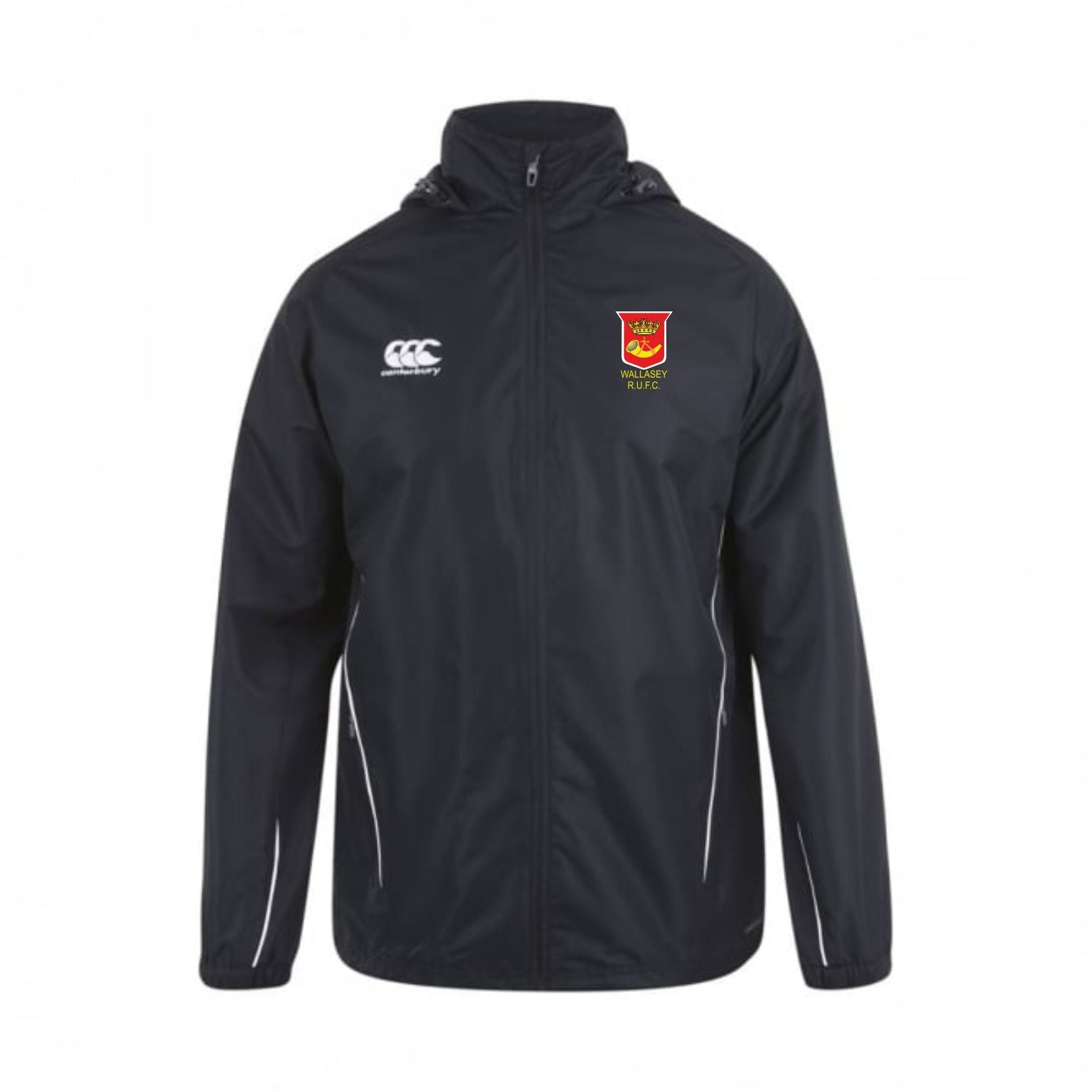 Wallasey RUFC CCC Team Full Zip Rain Jacket Junior