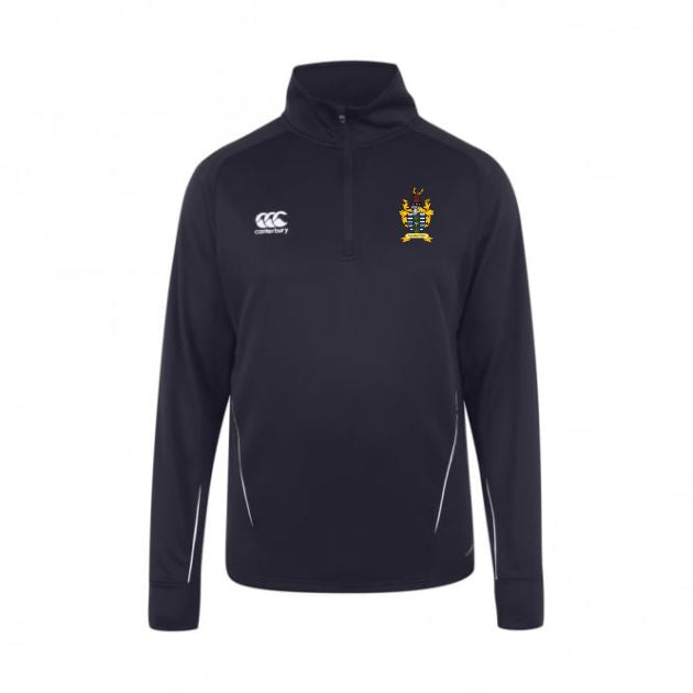 Driffield RUFC CCC Team 1/4 Zip Midlayer