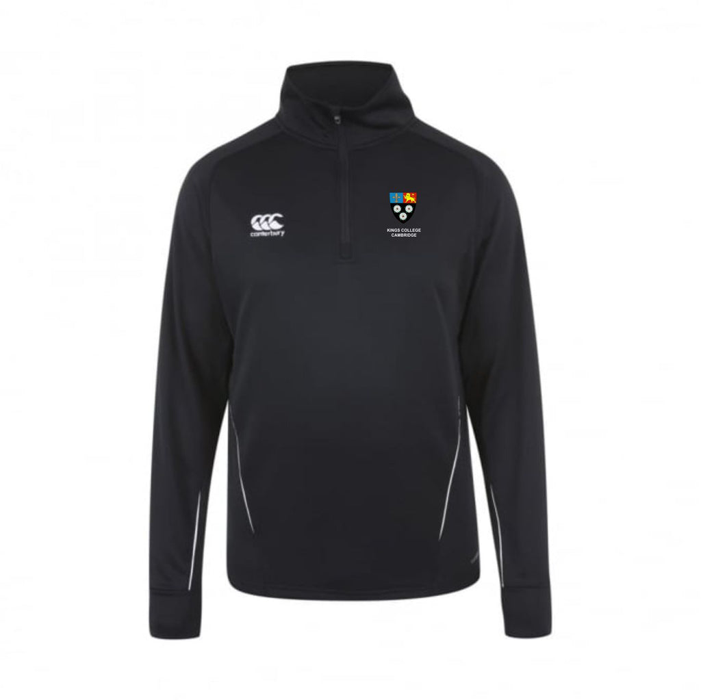 Kings College Cambridge CCC Team 1/4 Zip Midlayer mens