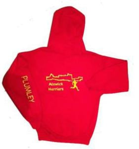 Alnwick Harriers  Alternative Hooded Top in junior