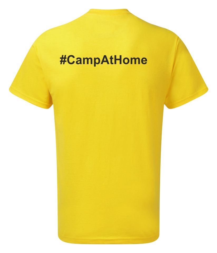 Camp at Home Tee Snr Small to Large