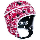 Ventilator Head Guard Red and White Senior