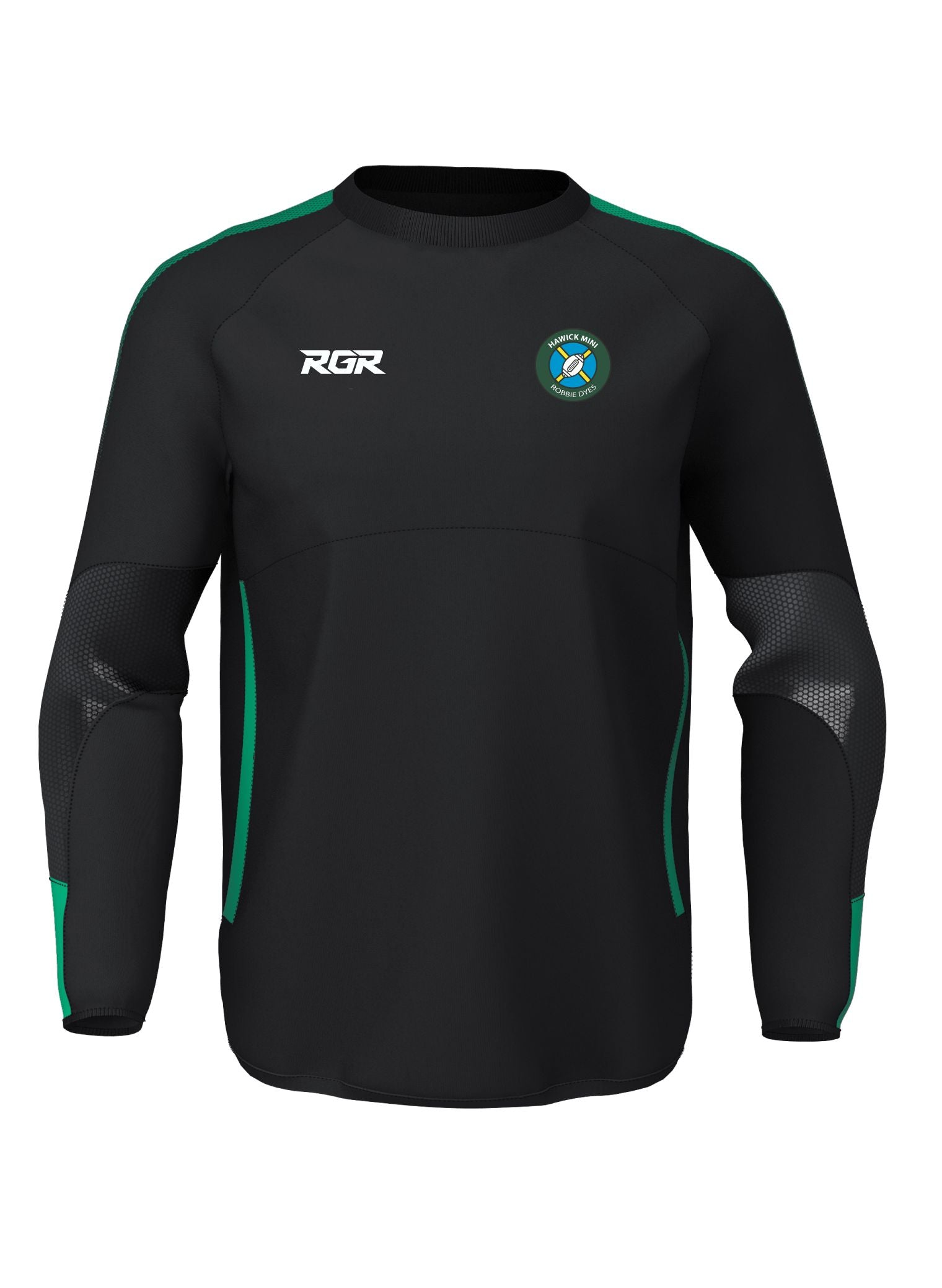 "HAWICK ""MINI ROBBIE DYES"" RFC RGR Contact Top Senior"