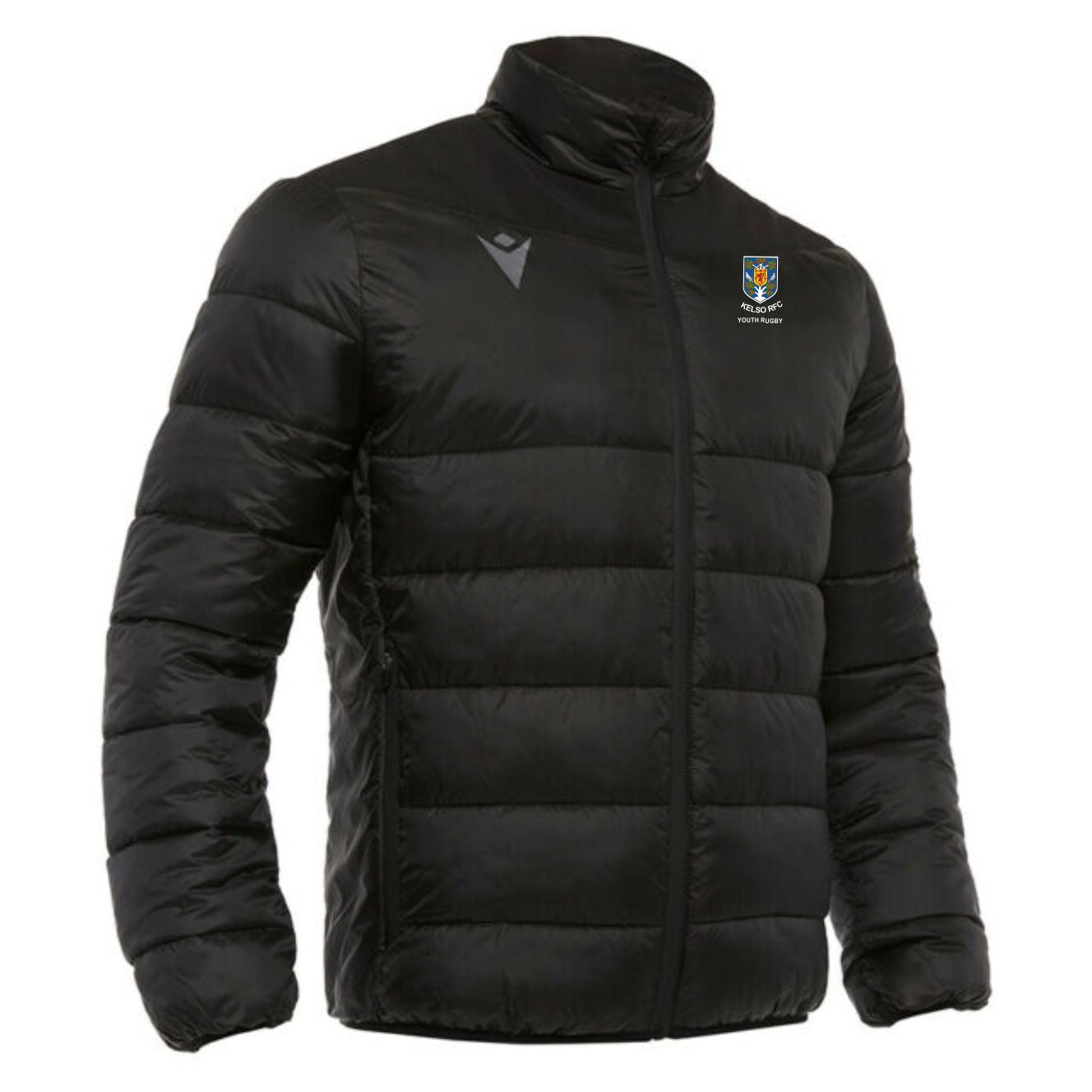 Kelso RFC Youth Rugby  Macron Eblana Quilted Jacket