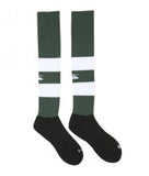 St Chad's College Rugby CCC Forest Team Hooped Sock