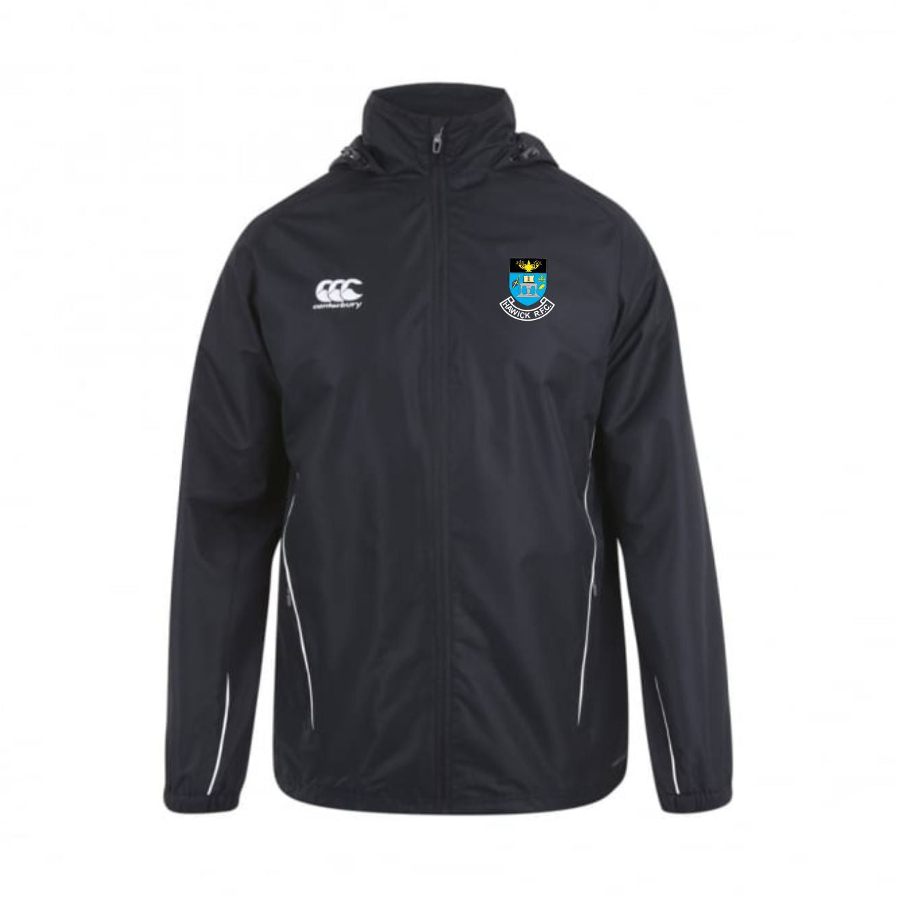 Hawick RFC CCC Full Zip Rain Jacket
