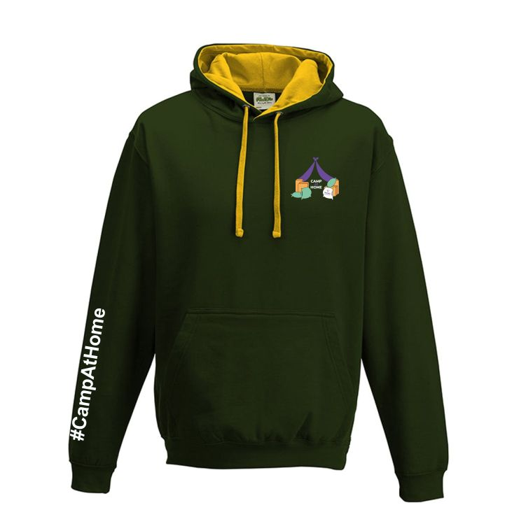 Camp At Home Hoody Two Colour Jnr