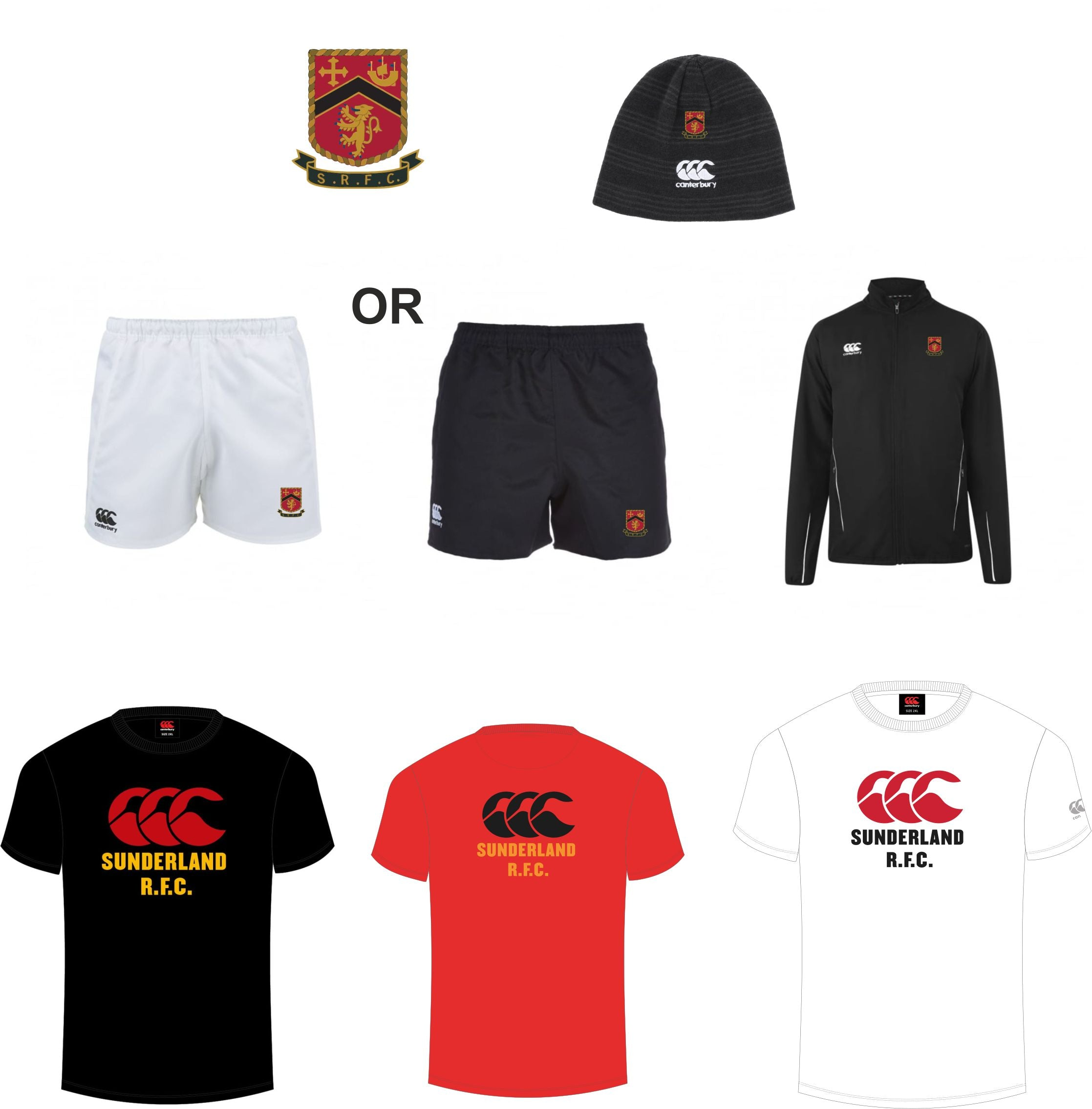 Sunderland RFC CCC Off-Field Kit Pack 3