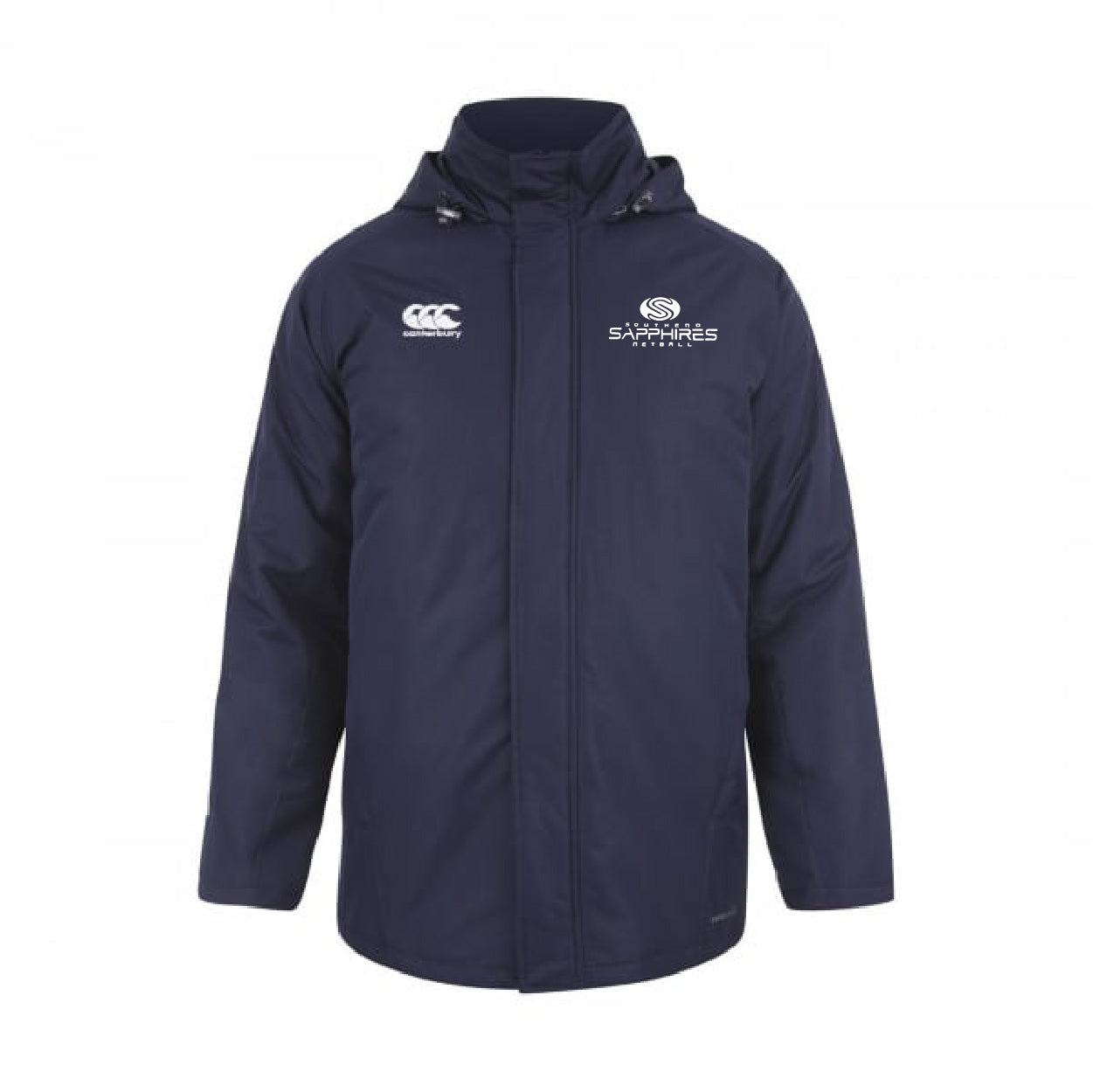 Southend Sapphires CCC Team Stadium Jacket Snr Navy