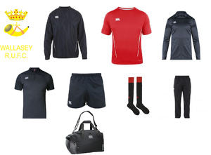 Wallasey RUFC CCC Kit Pack 4