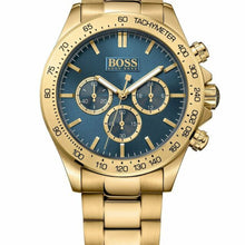 Laden Sie das Bild in den Galerie-Viewer, HUGO BOSS 1513340 IKON GOLD Herren Uhr