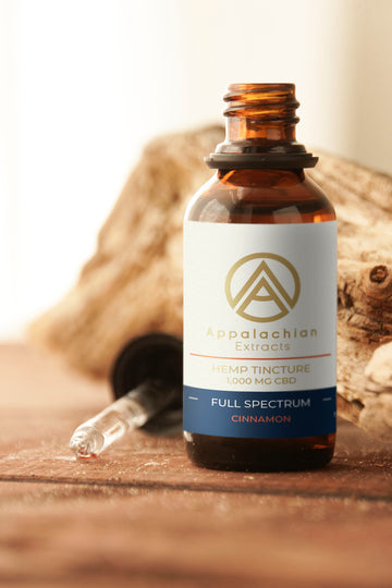 1000mg Full-Spectrum Tincture - Cinnamon
