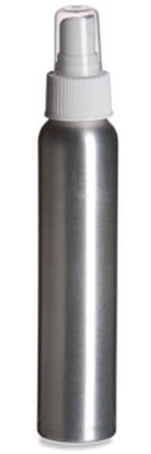 6- 4 Oz Aluminum Spray Bottle (Empty)