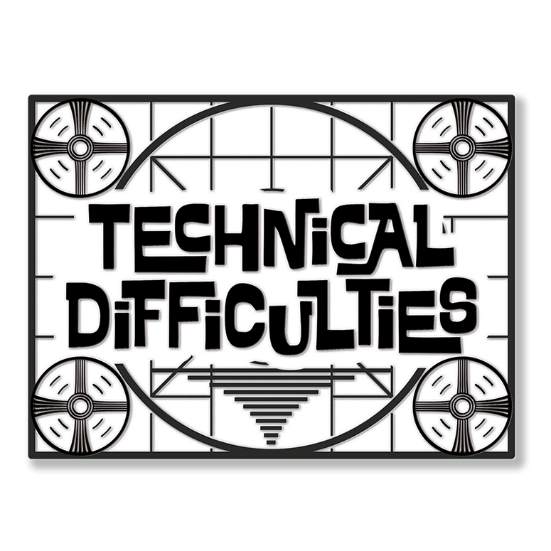 Eurogamer Technical Difficulties Pin Badge