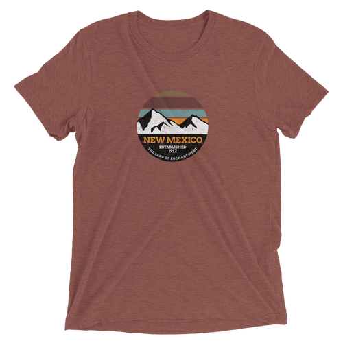 New Mexico Land of Enchantment Tri-blend T-shirt