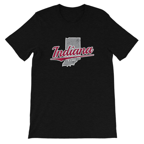 Indiana Home State Pride Tri-Blend T-Shirt