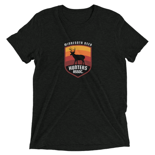 Minnesota Deer Hunters Assoc. Tri-blend T-shirt