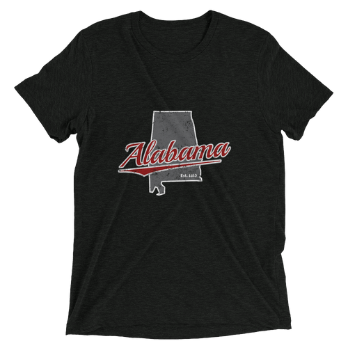 Alabama Home State Tri-blend T-Shirt