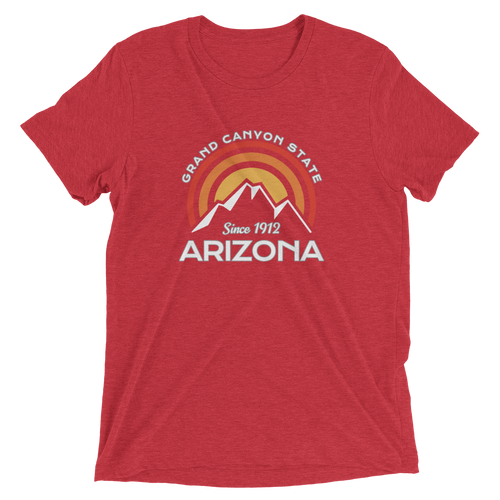 Arizona Grand Canyon State Tri-blend T-shirt