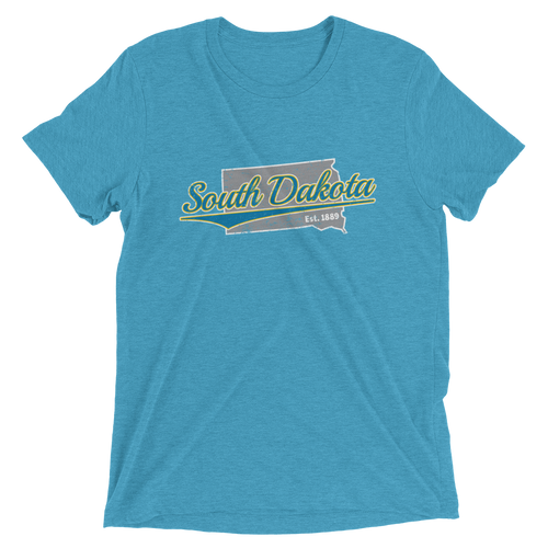 South Dakota Home State Pride Tri-blend T-shirt