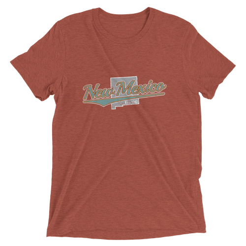 New Mexico Home State Pride Tri-blend T-shirt