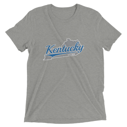 Kentucky Home State Pride Tri-blend T-shirt