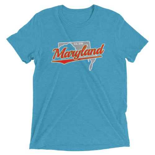 Maryland Home State Pride Tri-blend T-Shirt