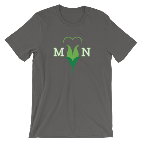 I Love MN Minnesota Heart Flower T-shirt