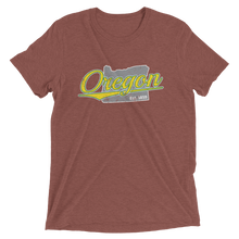 Load image into Gallery viewer, Oregon Home State Pride Tri-blend T-shirt