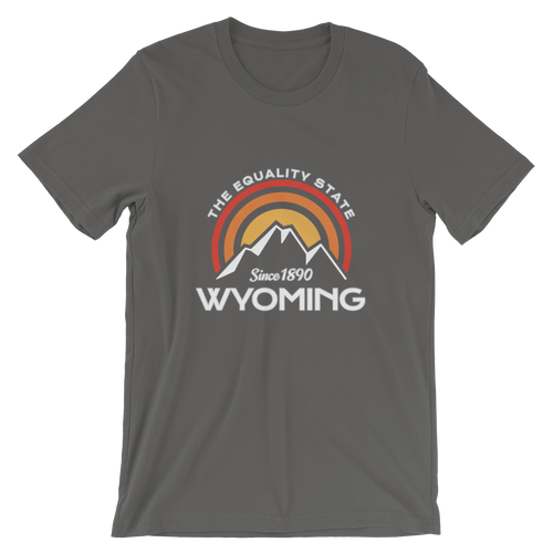 Wyoming Equality State T-shirt