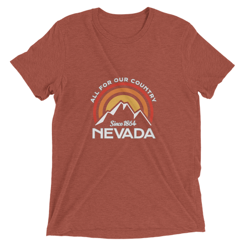Nevada All for Our Country Tri-blend T-Shirt