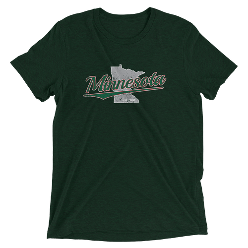 Minnesota Home State Pride Tri-blend T-Shirt
